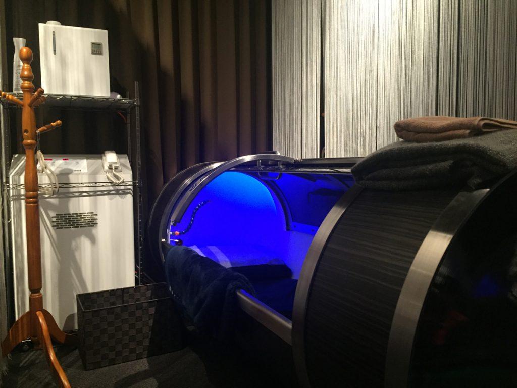 水素浴体験
