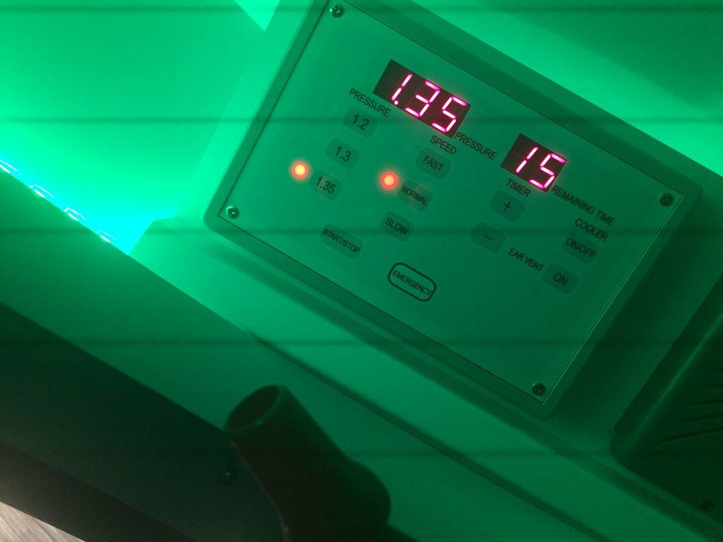1.35気圧の水素カプセル