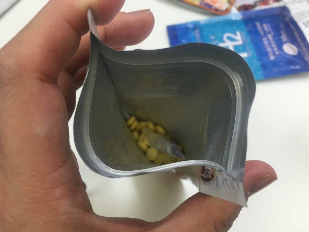酵水素328選サプリメントの臭い
